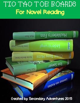 Tic-Tac-Toe Boards for Novel Reading