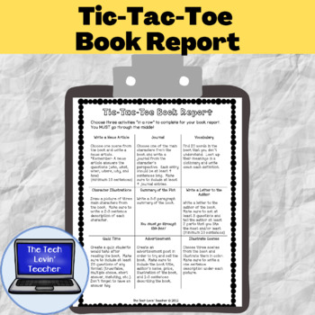 Tic-Tac-Toe Book Report