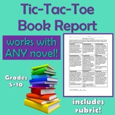 Tic-Tac-Toe Book Report Project- great for differentiation!