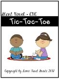 Tic-Tac-Toe CVC Short Vowels