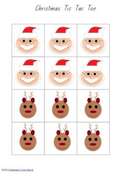 Tic Tac Toe - Christmas