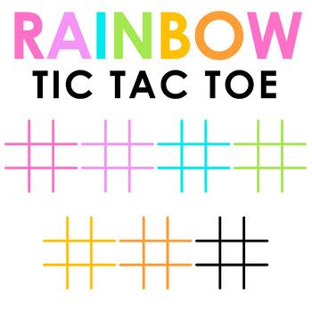 Tic Tac Toe Clip Art FREEBIE