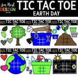 Tic Tac Toe Clipart -  Earth Day Clip Art  - Jen Hart Design
