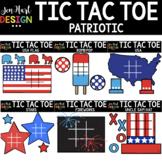 Tic Tac Toe Clipart -  Patriotic Clip Art  - Jen Hart Design