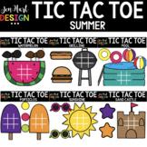 Tic Tac Toe Clipart -  Summer Clip Art  - Jen Hart Design