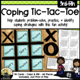 Coping Skill Task Cards with Tic Tac Toe Game
