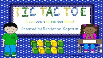 Tic-Tac-Toe Counting 1-10