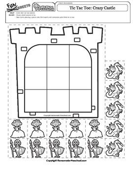 Tic Tac Toe: Crazy Castle