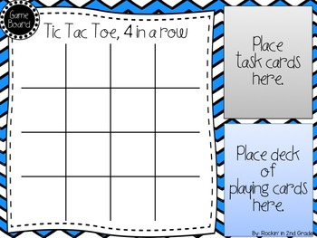Tic Tac Toe- A 3rd/4th Grade Math CCSS/TEKS Review