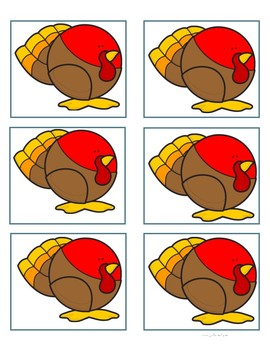 Turkey Cut-outs
