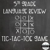 Tic-Tac-Toe ELA Review Game #digitaldollarspot