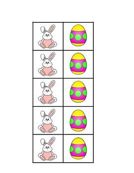 Tic Tac Toe Easter Theme English and Spanish La Pascua
