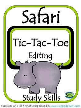 Tic-Tac-Toe Editing
