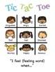 Tic Tac Toe Feelings Game