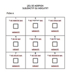 Tic Tac Toe: French subjunctive