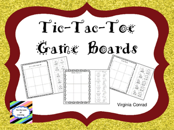 Tic-Tac-Toe Game Boards