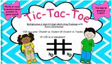 Tic-Tac-Toe Game- Multiplication Multi-Step Problem Solving