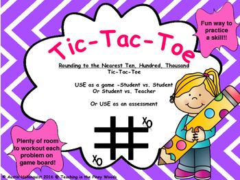 Tic-Tac-Toe Game-Rounding