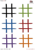 Tic Tac Toe Game/Template (Noughts and Crosses) - FREE
