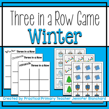 Show What You Know Tic Tac Toe (Winter/Christmas/Hanukkah) Literacy/Math