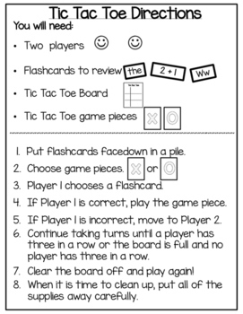 Show What You Know Tic Tac Toe (YEAR LONG BUNDLE) Literacy or Math Stations