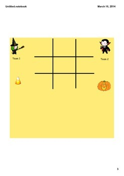 Tic Tac Toe Games for the Whole Year!