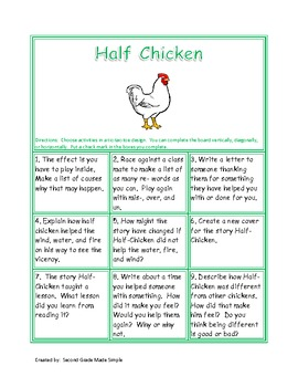 Tic-Tac-Toe Half Chicken