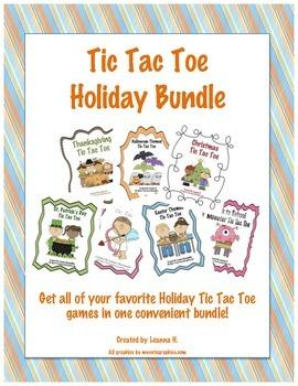 Tic Tac Toe - Holiday Bundle #jun17slpmusthave