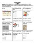 Tic Tac Toe Homework Board
