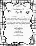 Tic Tac Toe Homework Set 4
