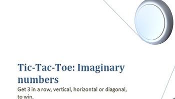 Tic-Tac-Toe: Imaginary Numbers