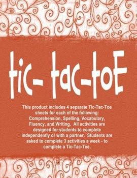 Tic-Tac-Toe Independent Activities