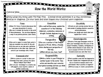 Tic Tac Toe Inquiry Based Homework