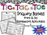 Tic Tac Toe Inquiry Based Homework