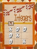 Tic Tac Toe Integers