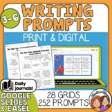 Writing Prompts Choice Boards: 252 Journal Prompts! Distance Learning