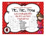 Tic, Tac, Toe: La conjugación de los verbos regulares / Re