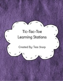 Tic-Tac-Toe Learning Stations