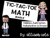 Tic Tac Toe Math Bundle