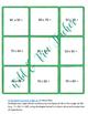 Tic Tac Toe Math Centers
