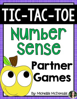 Tic-Tac-Toe Math: Number Sense & Fluency (Centers or Homework!)