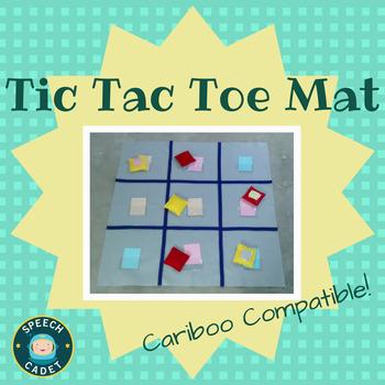 Tic Tac Toe Mats (Cariboo Compatible!) - NEW REDUCED PRICE!