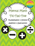 Tic-Tac-Toe Mental Math Games Bundle