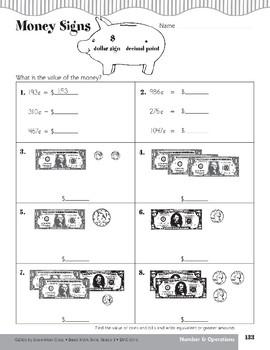 Tic-Tac-Toe (Money Values and Equivalent Amounts)