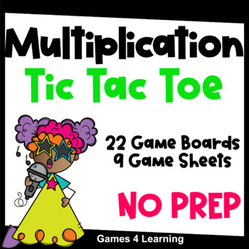 This is a photo of Multiplication Game Printable for 2nd grade