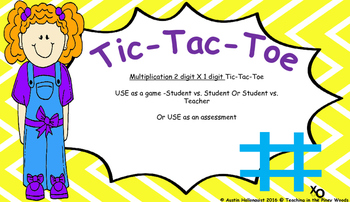 Tic-Tac-Toe Multiplication Problem Solving