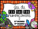 Tic Tac Toe - Multiplications 2