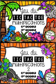 Tic Tac Toe - Multiplications