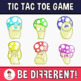 Tic Tac Toe - Mushrooms Friends Clipart