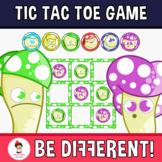 Tic Tac Toe Clipart (Mushrooms)